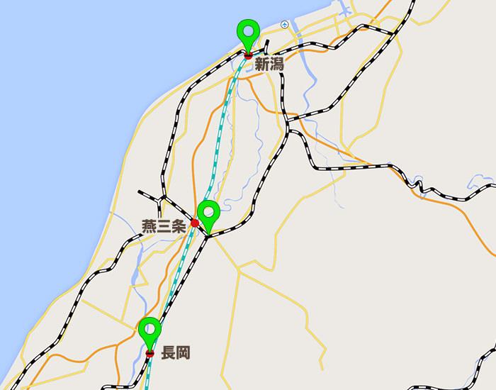 新潟エリアコールマップ